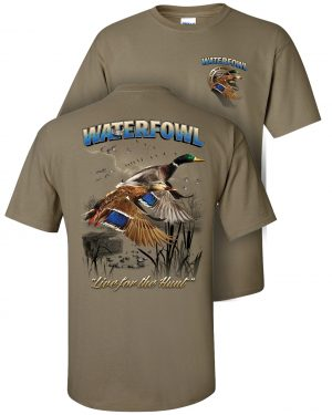 Waterfowl (Duck) Two-Sided Short Sleeve T-Shirt