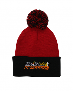 FTA beanie-ball-red